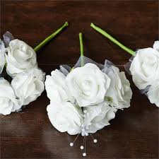 silk roses 60 artificial special edition silk roses bridal bouquet decor