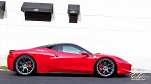 ferrari 458 custom cec edition ferrari 458 italia gets the first technomesh forged