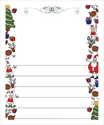 free printable writing paper to santa letter to santa paper template letter to santa writing paper