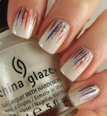 waterfall manicure ncaa collegefootball auburn manicure for