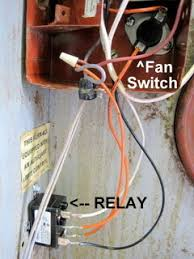 furnace fan switch wiring 6261840 fan switch conversion instructions mobile home repair