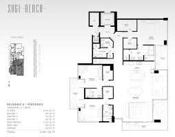 sage beach hollywood floor plans