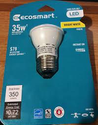 ecosmart 35w equivelant bright white 3000k par16 led flood light
