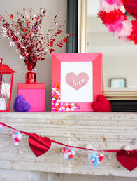 Decorate Mantel For Valentines Day by Valentine U0027s Day Mantel