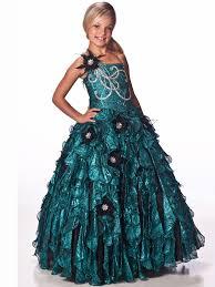 one shoulder royal blue unique fashions floor length pageant dress