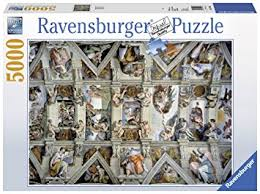 Cmyk Color Spectrum Puzzle Amazon Com Ravensburger Sistine Chapel Puzzle 5000 Piece