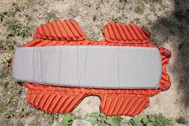 review sleeping pad with u0027wings u0027 for hammock campers