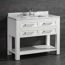 Vanities For Bathrooms Costco Pedro 42 In Single Vanity