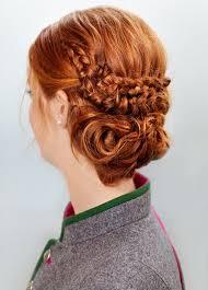 Frisuren Mittellange Haare Geflochten by Trachtenfrisur Für Mittellange Haare Bilder Madame De
