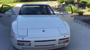porsche 944 silver 1986 porsche 944 turbo youtube