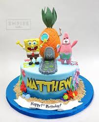 spongebob cake ideas spongebob cake kids birthday cakes cake birthdays