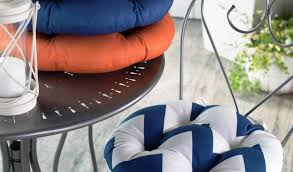 Outdoor Bistro Chair Cushions Round by Outdoor Round Seat Cushions Round Designs