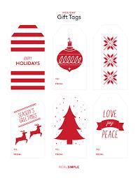 printable christmas gift tags real simple