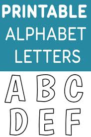 printable letters cut out free downloadable letter stencils daway dabrowa co