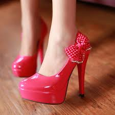 red bottom shoes wedges