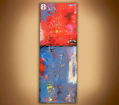 sale abstract painting on wood by erinashleyart on etsy