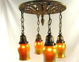 antique 1920 ceiling light fixtures 1920s light fixture etsy