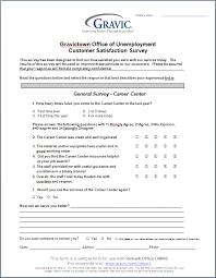 survey template word document template sample