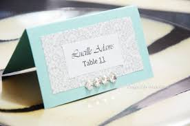 diy place cards diy wedding table name cards 4326
