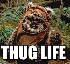 Ewok Meme - thug life ewok meme on memegen