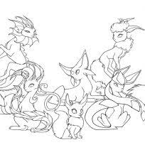 100 ideas pokemon eevee coloring pages on freenewyear2018 download