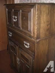Oak Bar Cabinet Ethan Allen Oak Bar Cabinet For Sale In New Connecticut
