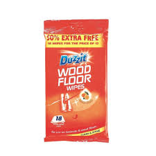 duzzit laminate and wood floor wipes pack of 12 amazon co uk