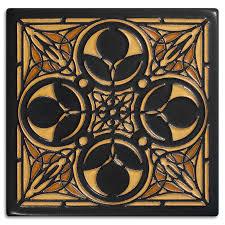 decorating olive frank lloyd wright motawi tile ideas