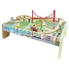 New Carousel Train Table Play Set Amazon Co Uk Toys Games