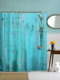 Polyester Shower Curtains 2018 Polyester Shower Curtain With Hooks For Bathroom Turquoise Cm