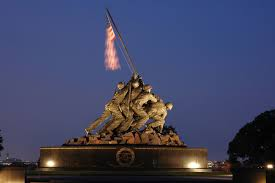 Famous Picture Of Soldiers Putting Up Flag United States Marine Corps War Memorial U2013 Wikipedia