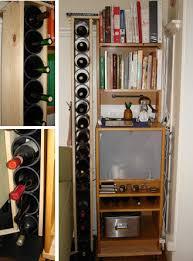 diy wine rack ii taller thinner less cardboard rocket city digs