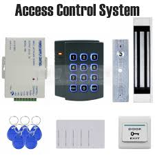 magnetic lock kit for cabinets diysecur 125khz rfid password keypad access control system kit