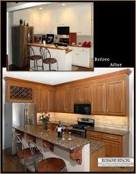 Best  Cabinet Refacing Cost Ideas On Pinterest Cost Of New - Kitchen cabinet refacing before and after photos