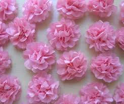 tissue paper flowers diy tiny tissue paper flowers i do it yourself
