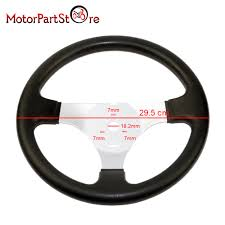 steering wheel for 110cc to 150cc go kart karting cart atv quad