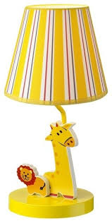 parrot uncle lion u0026 giraffe theme table lamp for children u0027s room
