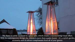 contemporary patio heaters athena stainless steel gas patio heater at www