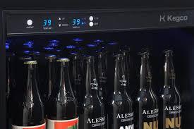Beer Bottle Refrigerator Glass Door by Kegco Vscb 24ssrn 24