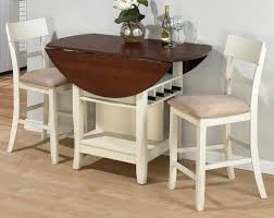 Enchanting White And Wood Kitchen Table Rolling Chairs Carts - White and wood kitchen table