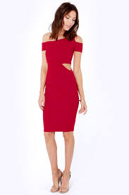 cut out dress wine dress cutout dress the shoulder dress 30 00
