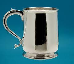 silver mug george i britannia silver mug william fleming london 1716 m