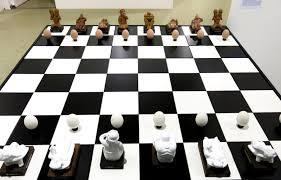 cool chess boards art basel 2015 highlights cool hunting