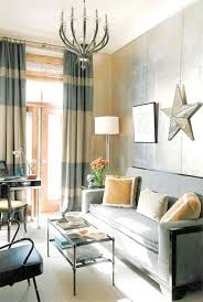 Two Different Colored Curtains Style Trend Striped Curtains Dig This Design