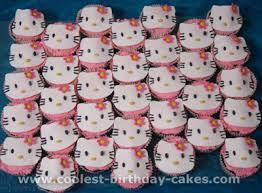 coolest kids cupcake ideas and hello kitty cupcake cake designs