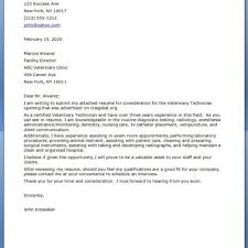 Electronics Technician Cover Letter Veterinary Cover Letter Choice Image Cover Letter Ideas