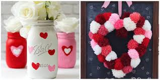 Valentine S Day Store Decoration by 17 Easy Valentine U0027s Day Crafts Diy Decorations For Valentine U0027s Day