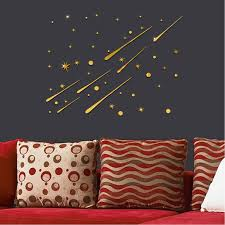 Star Decals For Ceiling by Diy Ceiling Star Stickers Mirror Wall Stickers For Kids Room