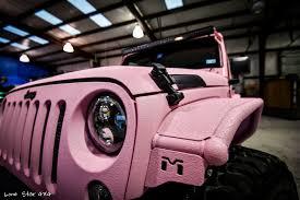 jeep pink custom pink jeep allen tx lone star 4x4 lone star 4x4