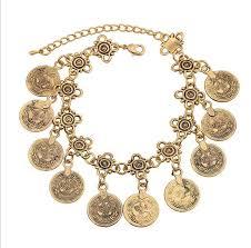 fashion bracelet sets images European and american retro coin tassel bracelet sets fashion jpg